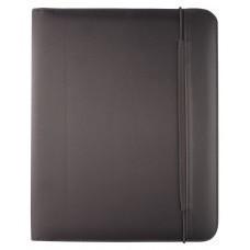 Папка Mokai формата А4 с блокнотом, черная