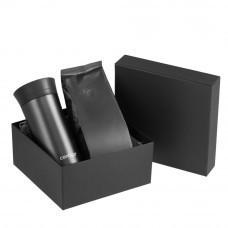 Набор Tonus: термостакан и кофе, черный
