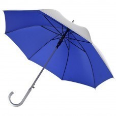 Зонт-трость Unit Silver, синий