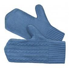 Варежки Comfort Fleece, синие (индиго)