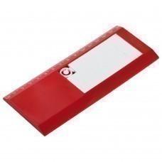 Линейка Konfi с головоломкой «Пятнашки», красная