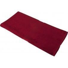 Полотенце махровое Medium, бордовое
