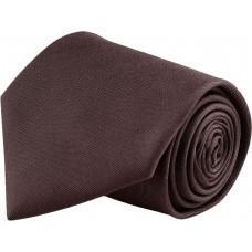 Галстук GLOBE шоколадно-коричневый