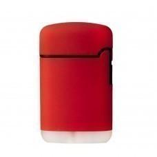 Зажигалка Zenga, турбо, многоразовая, красная