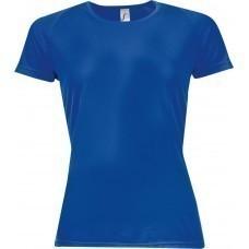 Футболка женская SPORTY WOMEN 140, ярко-синяя