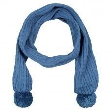 Шарф Comfort, синий (индиго)