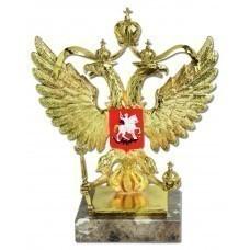 Скульптура «Герб России», золотой декор