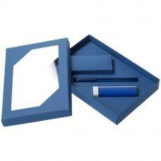 Набор Energy: аккумулятор и ручка, ver.2, синий
