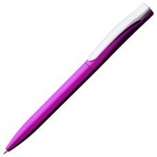 Ручка шариковая Pin Silver, розовая