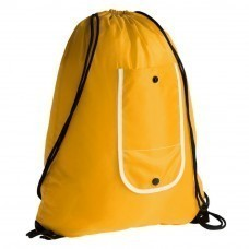 Рюкзак складной Unit Roll, желтый