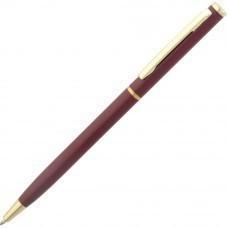 Ручка шариковая Hotel Gold, бордо