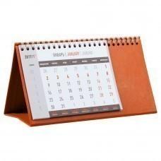 Календарь настольный Brand, оранжевый
