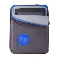 """Сумка для планшета 10"""" Silitab, серая с синим"""