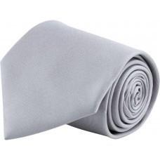 Галстук GLOBE серебристо-серый