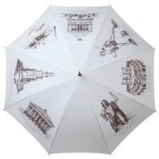 Зонт-трость «Восьмое чудо света», белый