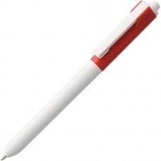 Ручка шариковая Hint Special, белая с красным