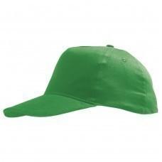 Бейсболка детская SUNNY KIDS, ярко-зеленая