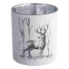 Подсвечник Forest, с изображением оленя