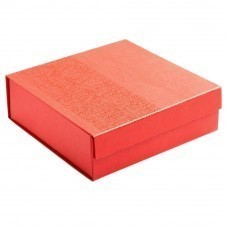 Коробка Joy Small раскладная на магнитах, красная