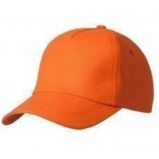 Бейсболка Bizbolka Match, оранжевая