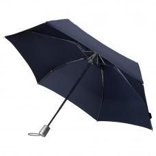 Складной зонт Alu Drop, 4 сложения, автомат, синий