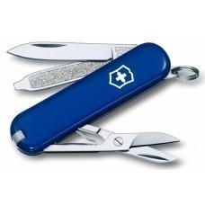Нож-брелок Classic 58 с отверткой, синий