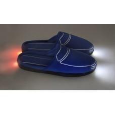 Тапки с подсветкой «Тапкомобили Car-Tapki», синие