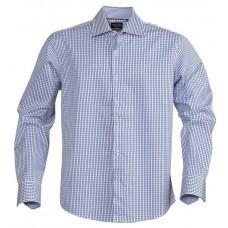 Рубашка мужская в клетку TRIBECA, синяя