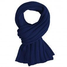 Шарф Chain, темно-синий