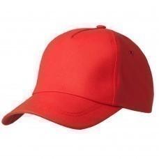 Бейсболка Bizbolka Match, красная