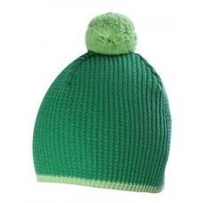 Шапка Hit, зеленая с салатовым