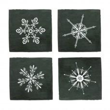 Набор костеров Snowflakes