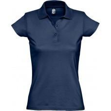 Рубашка поло женская Prescott women 170, темно-синяя