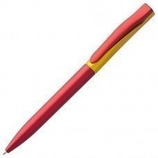 Ручка шариковая Pin Fashion, красно-желтая