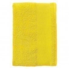 Полотенце махровое Island Medium, лимонно-желтое
