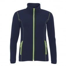 Куртка женская NOVA WOMEN 200, темно-синяя с зеленым яблоком