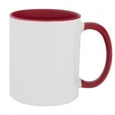 Кружка Promo Plus для сублимационной печати, красная