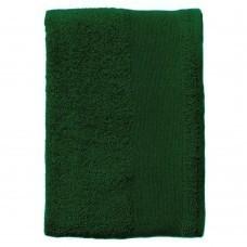 Полотенце махровое Island Small, темно-зеленое