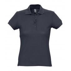 Рубашка поло женская PASSION 170, темно-синяя (navy)