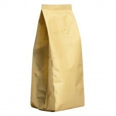 Кофе в зернах, в золотистой упаковке