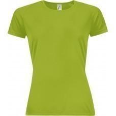 Футболка женская SPORTY WOMEN 140, зеленое яблоко