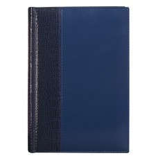 Ежедневник LUXE REPTAIL, полудатированный, синий