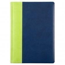 Ежедневник Norma, недатированный, сине-зеленый