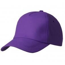 Бейсболка Bizbolka Match, фиолетовая
