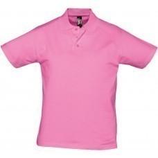 Рубашка поло мужская Prescott men 170, розовая