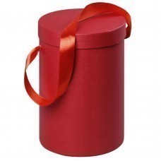 Подарочная коробка Rond, красная