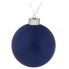Елочный шар Colour, 10 см, синий