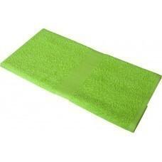 Полотенце махровое Medium, зеленое яблоко