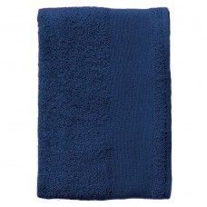 Полотенце махровое Island Medium, темно-синее