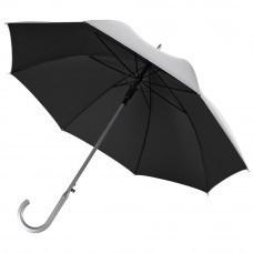 Зонт-трость Unit Silver, черный